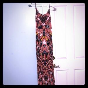 Xhilaration Dresses - Tribal print maxi dress